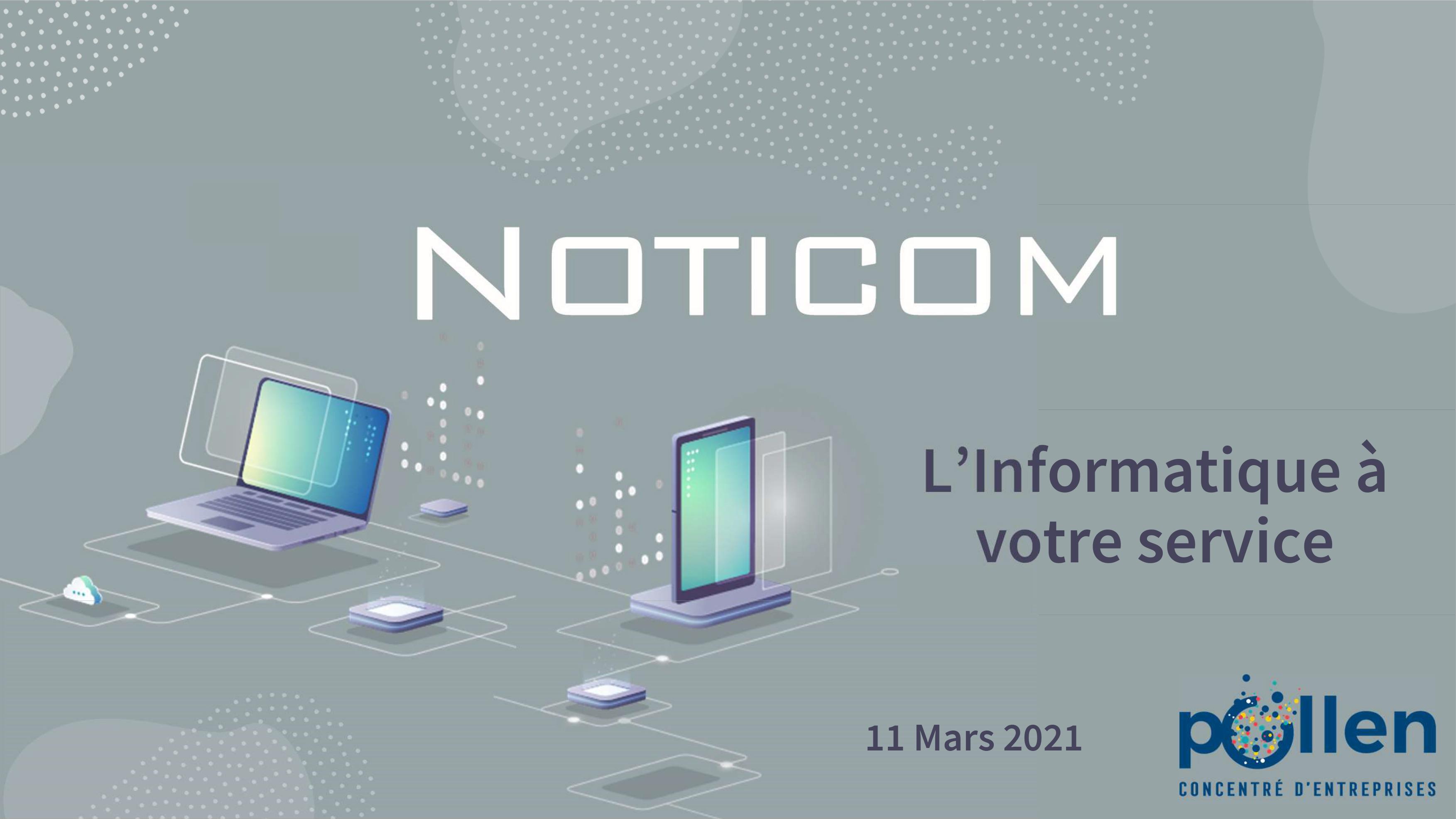 POLLEN Concentré d'entreprise - NOTICOM L'informatique à votre service